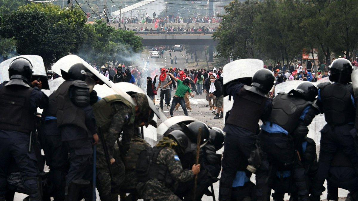 La calma retorna a Honduras tras vandalismo y violencia