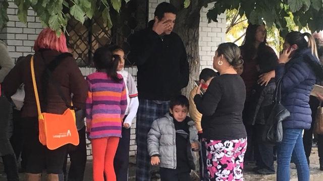 Evacuan Policías Municipales a estudiantes de escuela primaria tras explosión