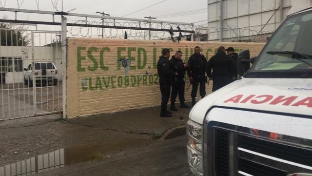 Explosión en primaria de Ciudad Juárez