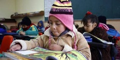Relacionada frio escuelas