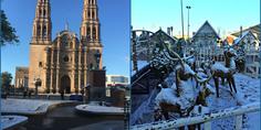 Relacionada plaza del angel plaza de armas chihuahua nieve