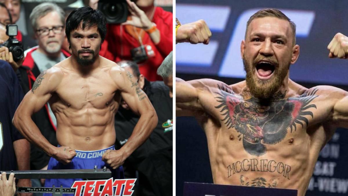 Manny Pacquiao abre la posibilidad de pelear con Conor McGregor en 2018