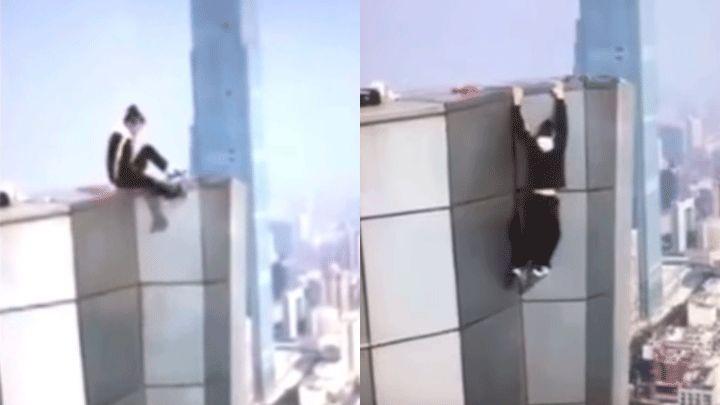Murió un youtuber que quiso hacer acrobacias en un piso 62