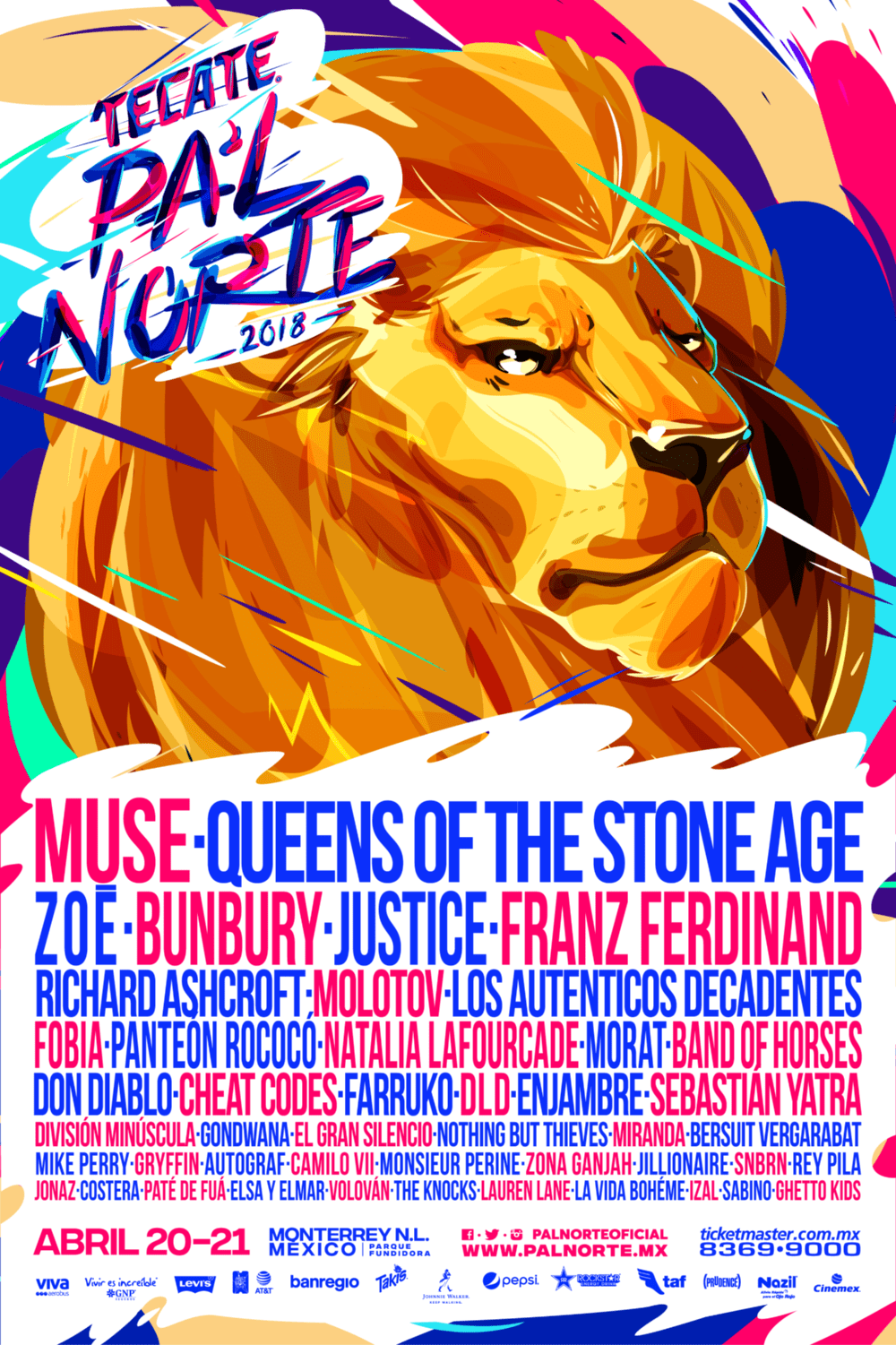 Poster pal norte 2018