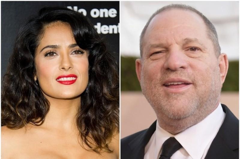 Salma Hayek relató su infierno personal con Harvey Weinstein