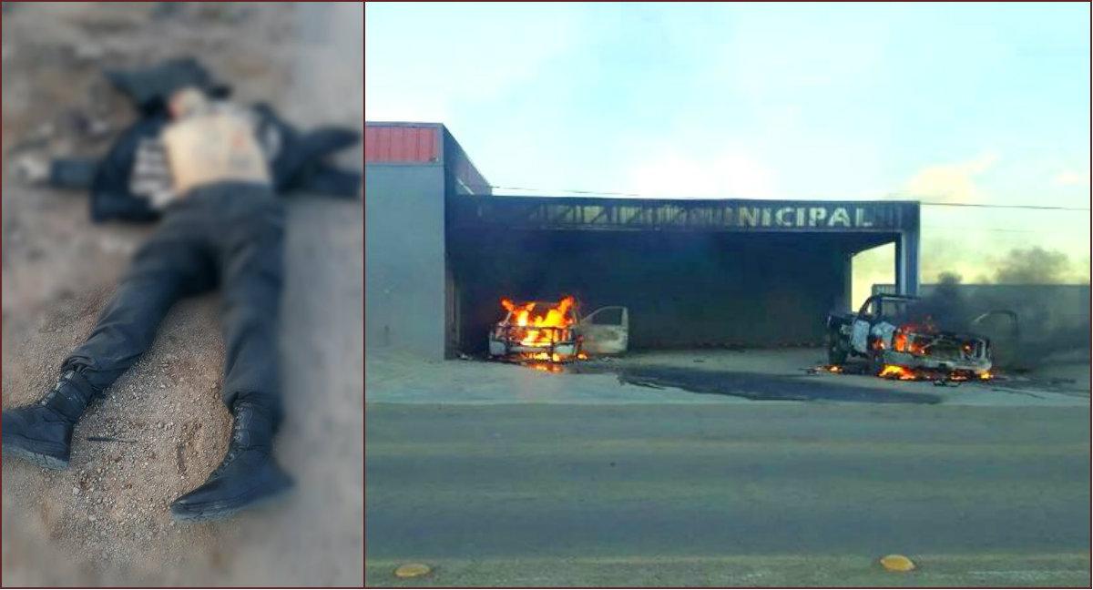 Incendiaron la comandancia en Chihuahua y atacaron al personal a balazos