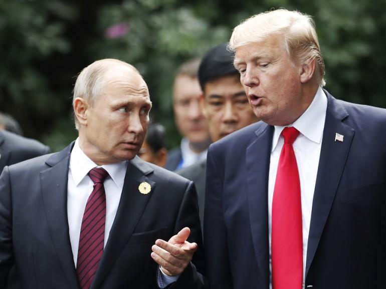 Putin da gracias a trump