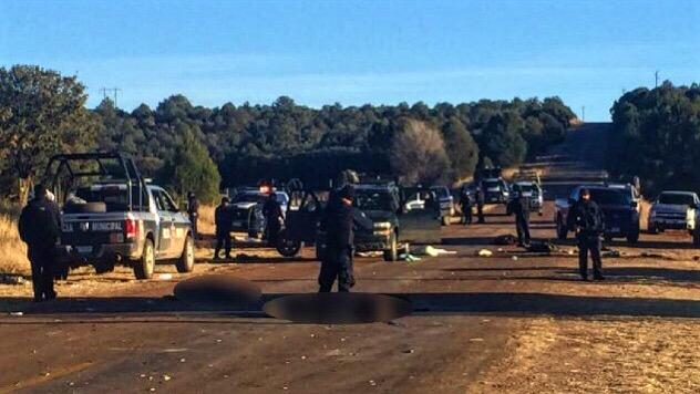 FOTOS: Fueron seis muertos en el enfrentamiento de Gómez Farías