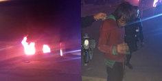 Relacionada agentes municipales salvan a indigente de morir calcinado tras incendio en finca abandonada