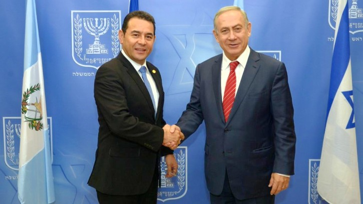 Netanyahu jimmy morales
