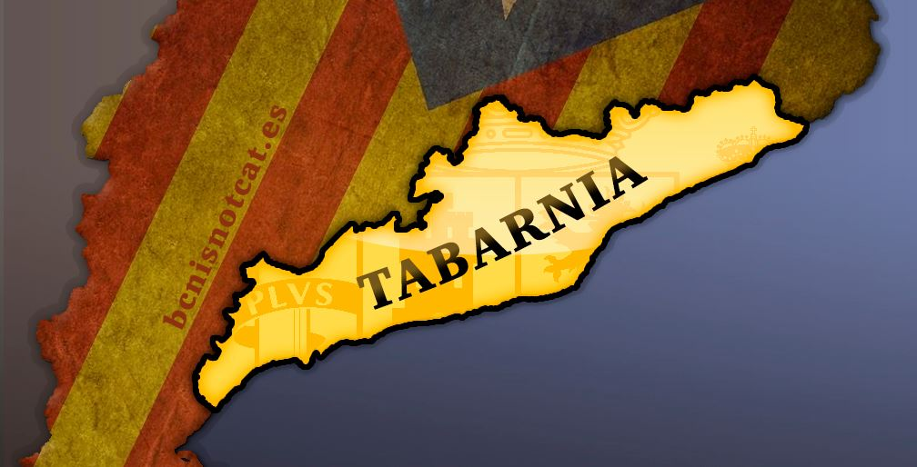 Quieren separarse de Cataluña si se independiza — Nace Tabarnia