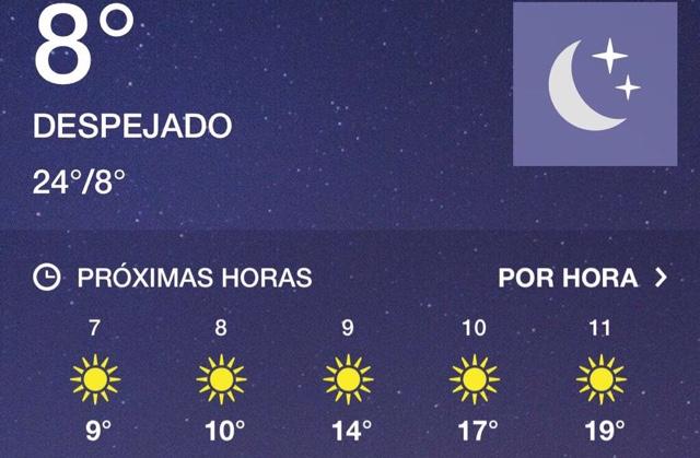 Frente frío número 20 para este fin de año