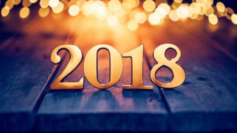 A o nuevo 2018