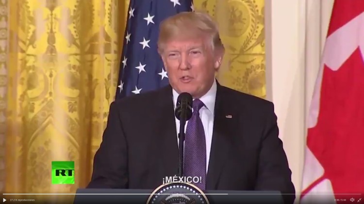 Trump en video de pe a nieto