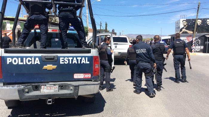 Policia estatal juarez