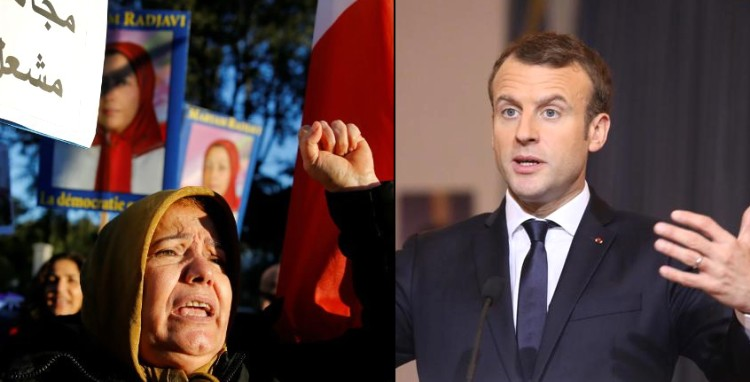 Macron iran