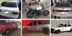 Relacionada carros robados