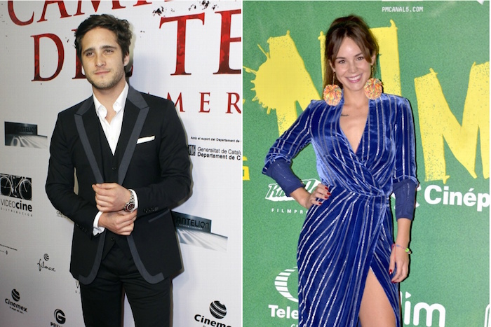 OMG! Camila Sodi y Diego Boneta estrenan romance