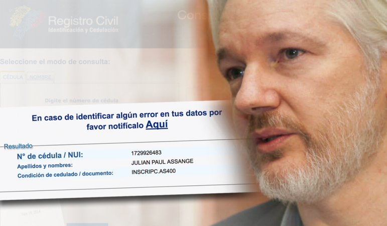 Foto assange