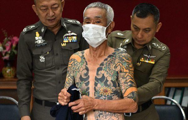 Anciano criminal fue detenido gracias a fotos de sus tatuajes