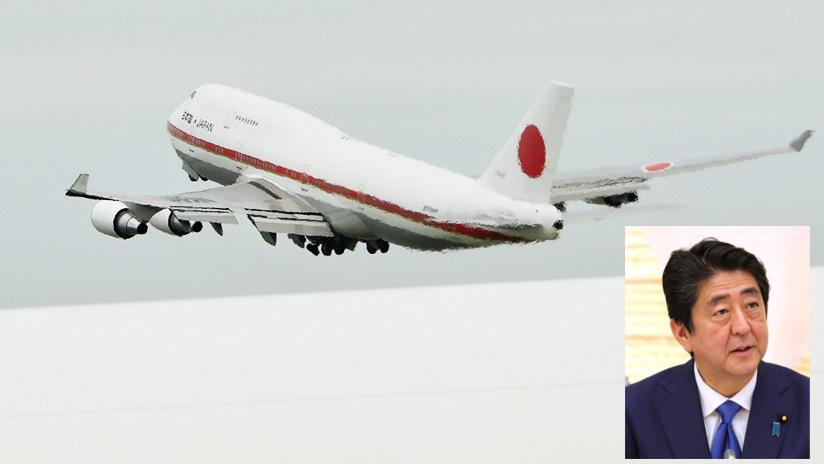 Shinzo abe avion