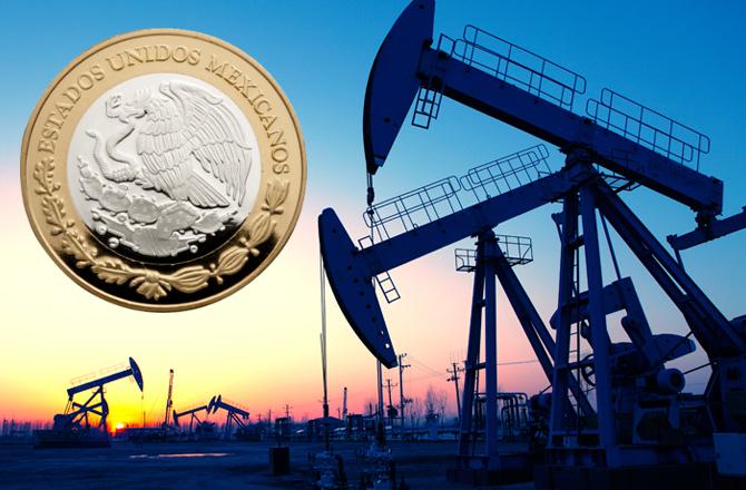 Precio del petroleo peso