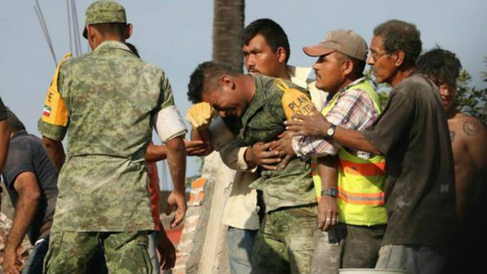 Matan en una emboscada a soldado héroe del sismo