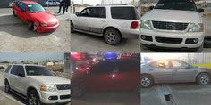 Relacionada estos son los autos que recuperaron con reporte de robo