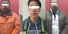 Relacionada detiene la aei a tres personas que viajaban con droga y armas de fuego.