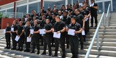 Relacionada acadeia de policia municipal