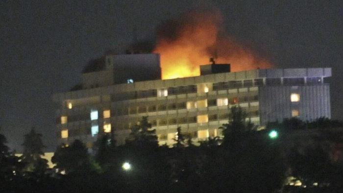 Hombres armados atacan el hotel Intercontinental de Kabul