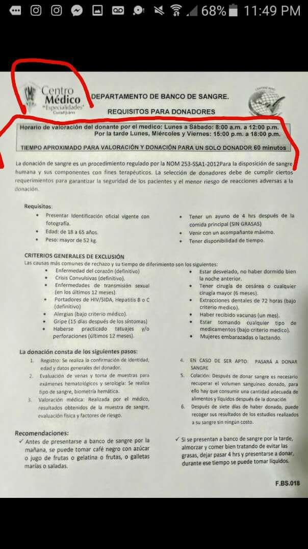 Solicitan 40 donadores de sangre para Marco Antonio Trejo | Puente Libre