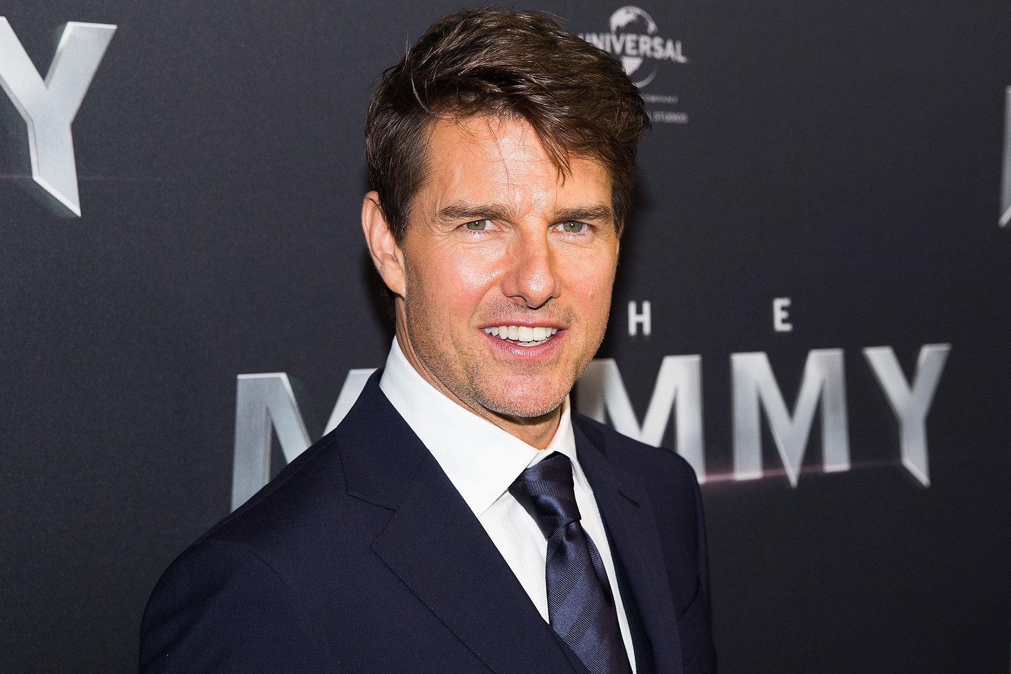 Tom Cruise acaba de abrir Instagram y esta es su primera foto