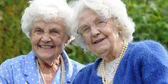 Relacionada las gemelas mas viejas del mundo