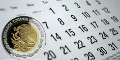 Relacionada calendario peso mexicano