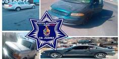 Relacionada agentes municipales recuperaron tres vehi culos con reporte e indicios de robo