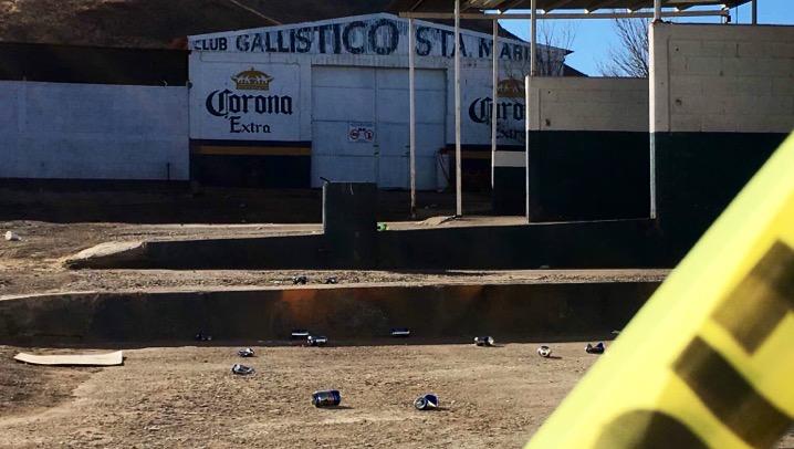 Asesinaron a seis en palenque clandestino en Chihuahua