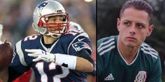 Relacionada chicharito tom brady