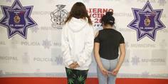 Relacionada agentes municipales arrestan a dos jovencitas por el delito de lesiones 2