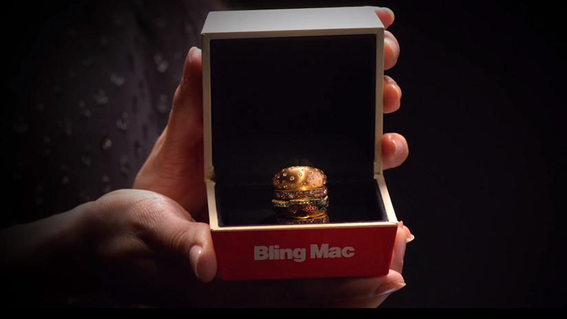 McDonald's crea la 'hamburguesa' más cara del mundo