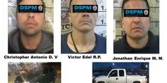 Relacionada detenidos carros robados
