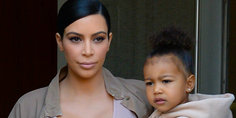 Relacionada kim kardashian north west