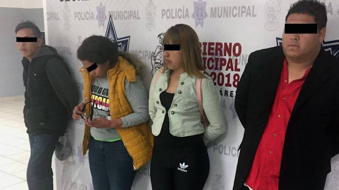 Agentes municipales arrestan a cuatro personas por el delito de fraude gene rico
