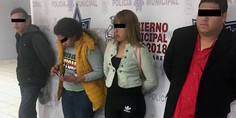 Relacionada agentes municipales arrestan a cuatro personas por el delito de fraude gene rico