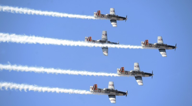 Conmemoran 103 aniversario de la Fuerza Aérea Mexicana
