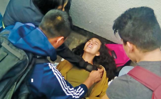 Balean a jovencita tras resistirse a un asalto en el Metro Toreo