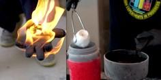 Relacionada incendio acetona