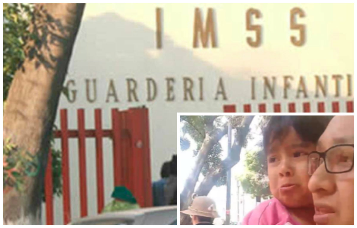 (VIDEO) A punto de ser atropellada niña que se salió de guardería