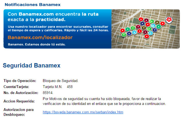 Falso banamex