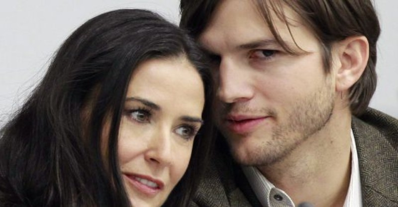 Ashton Kutcher confesó su método extremo para superar a Demi Moore